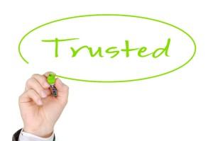 vertrauenswürdig